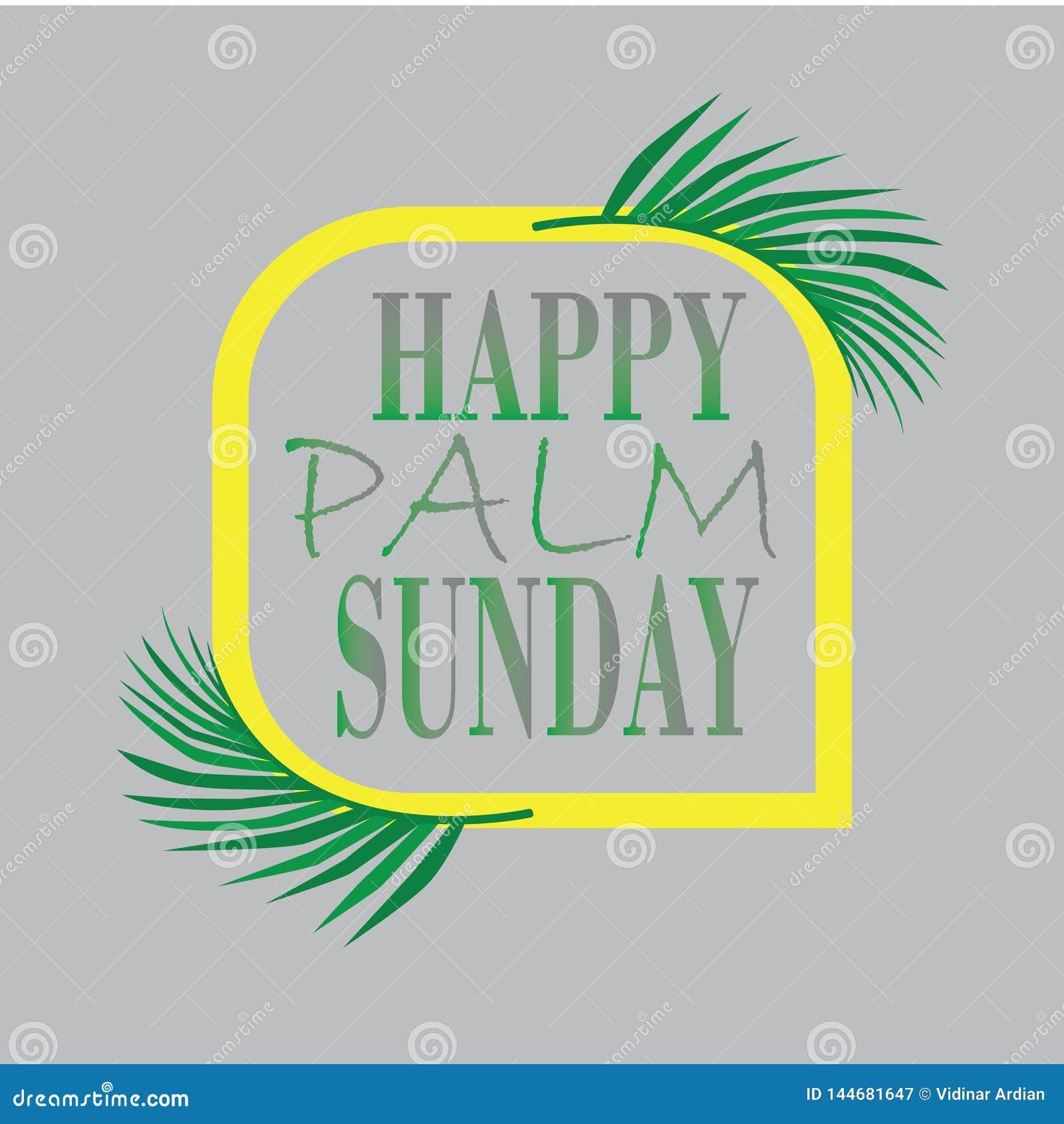 Palmzondag met realstick