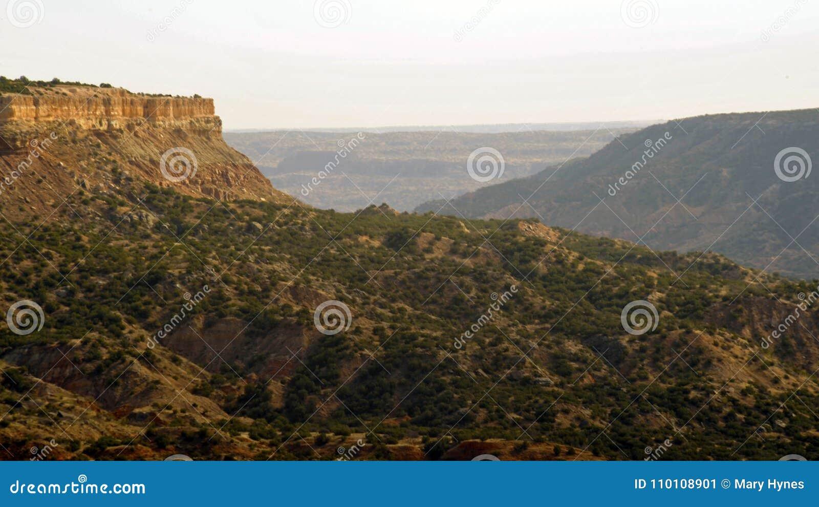Palo杜罗峡谷n得克萨斯-西部风景