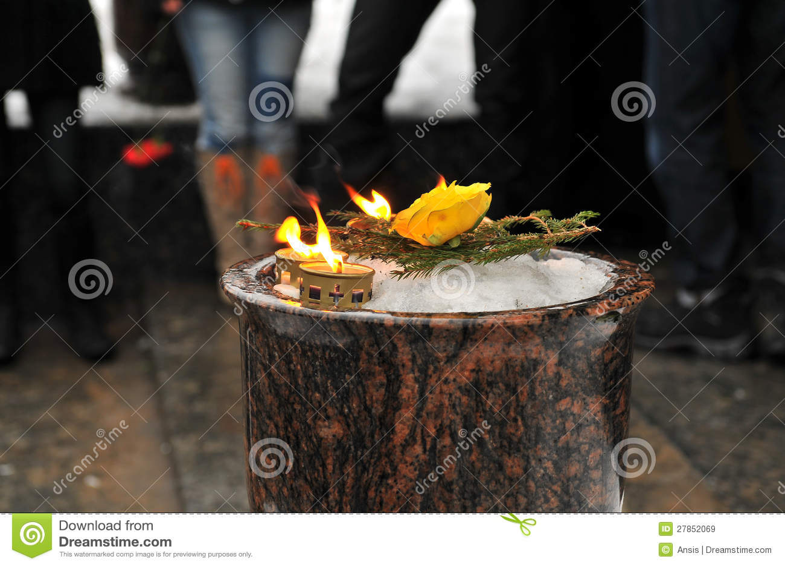 Pamiątkowa świeczka