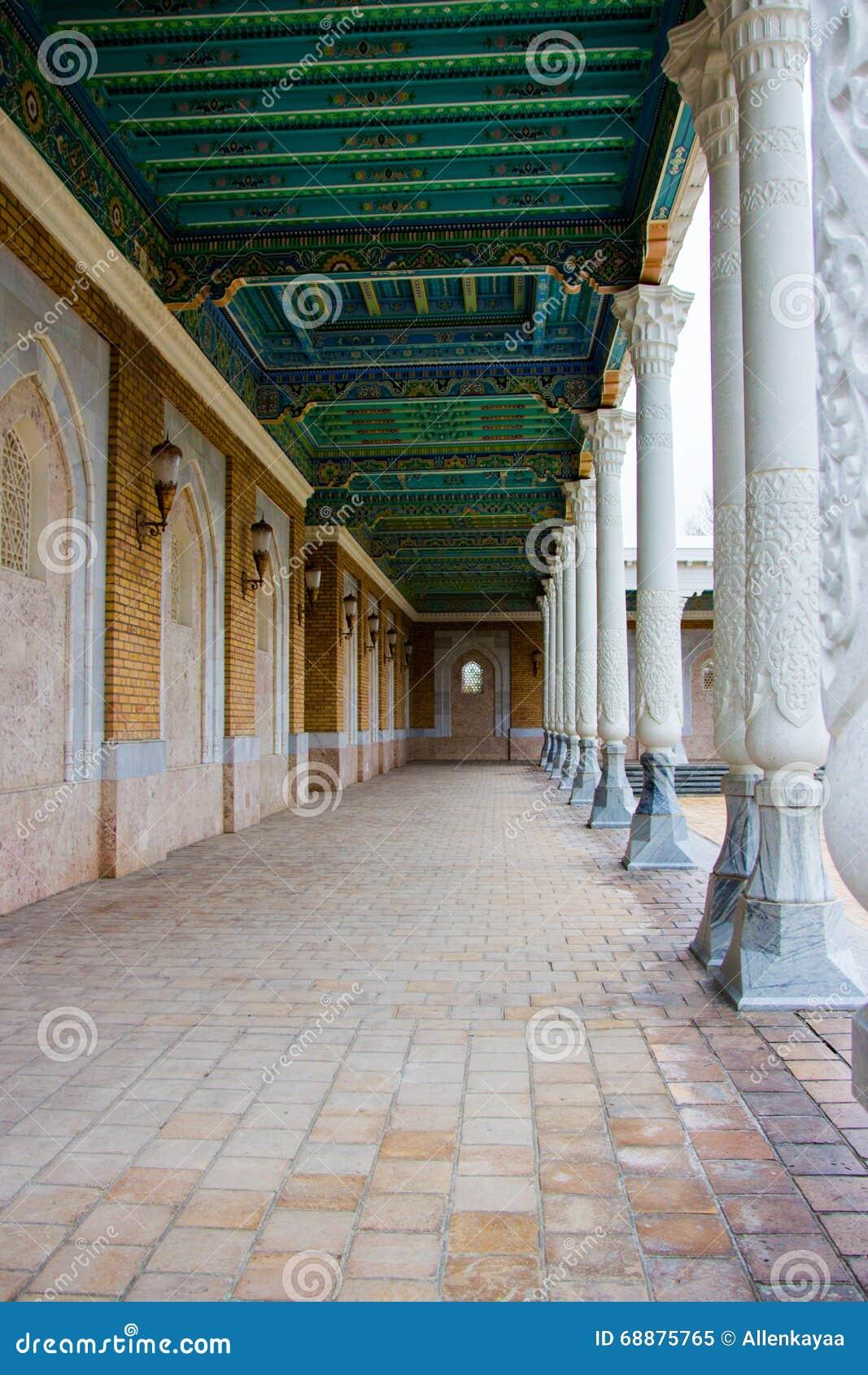 Pamiątkowy Powikłany mauzoleum w Samarkand, Uzbekistan, Jedwabnicza droga