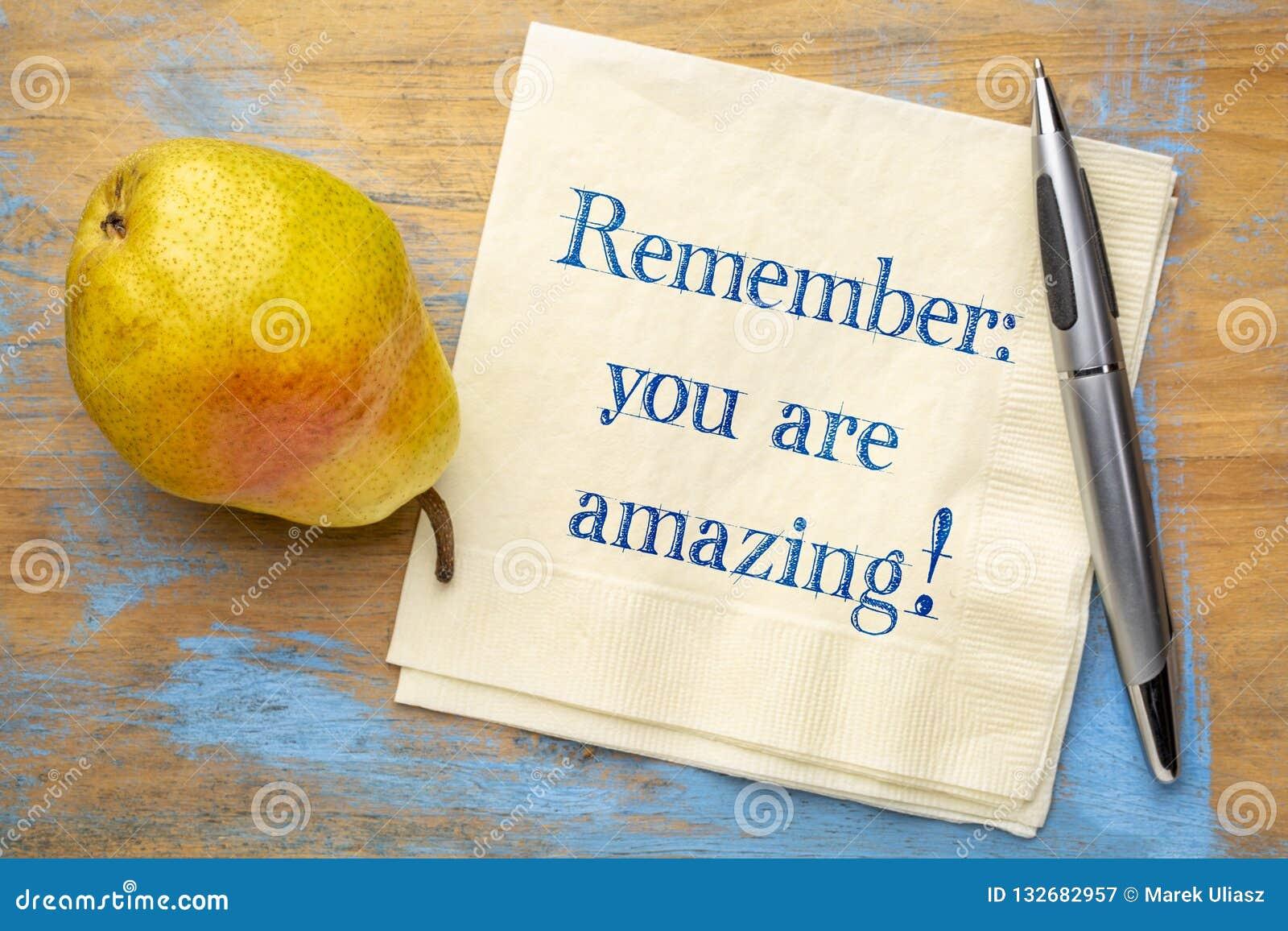 Pamięta - ty jesteś zadziwiający