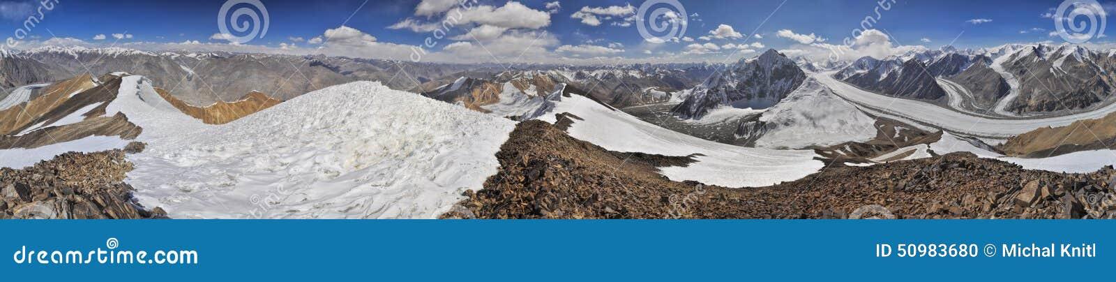 Pamir dans le Tadjikistan