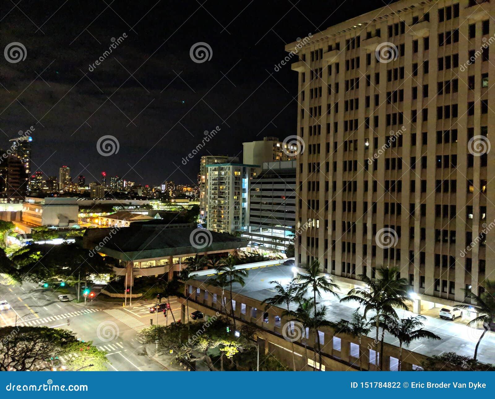 Pan Am Building på natten