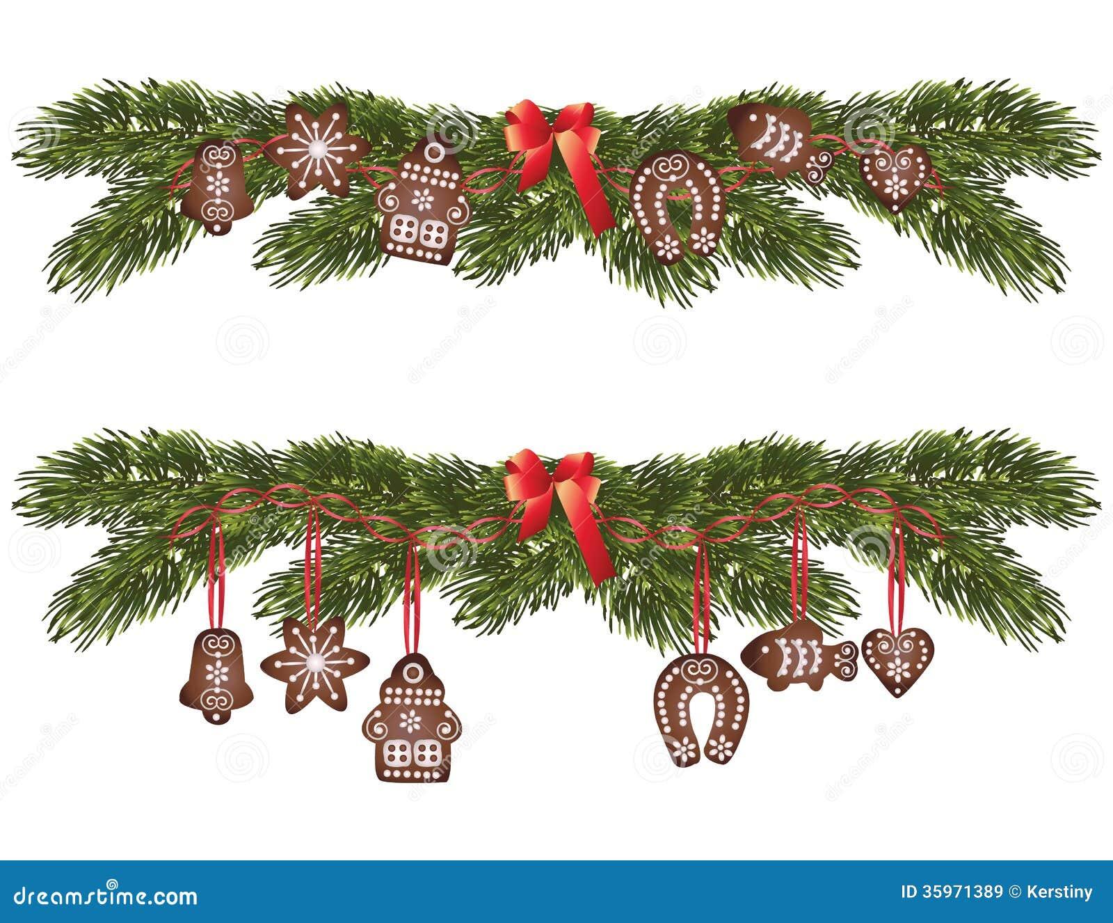 Pan de jengibre de la Navidad