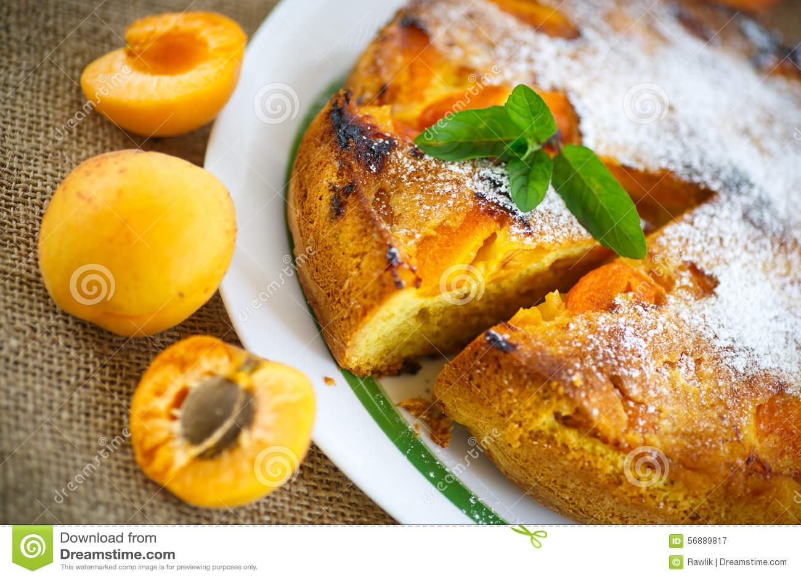 Pan di Spagna con l albicocca