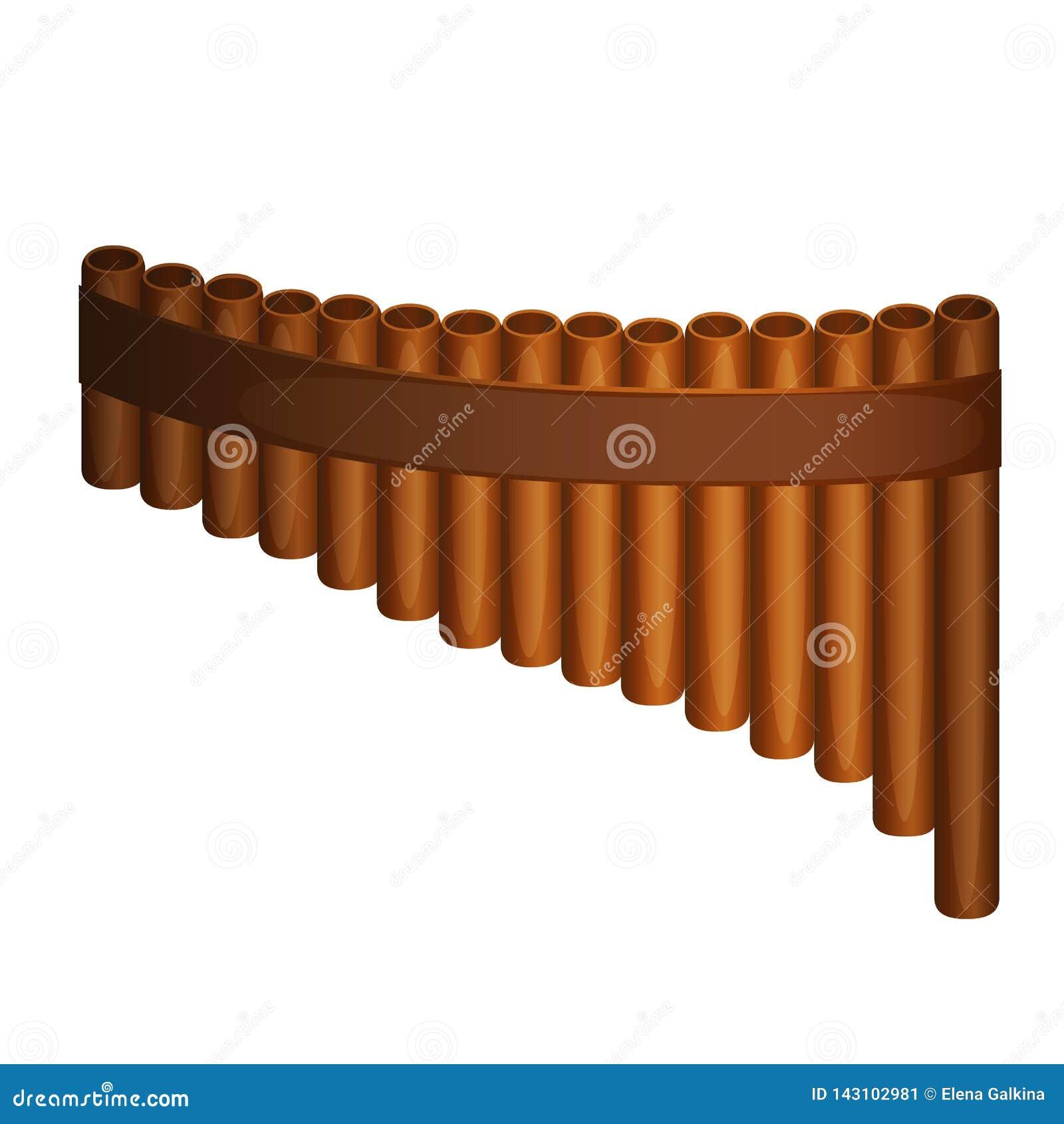 Pan Flute-Vektor