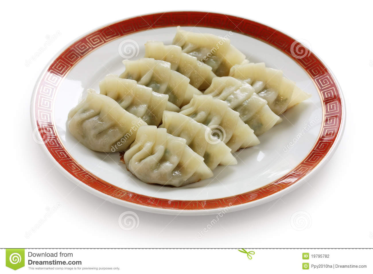 Fried Dumplings Chinese Food