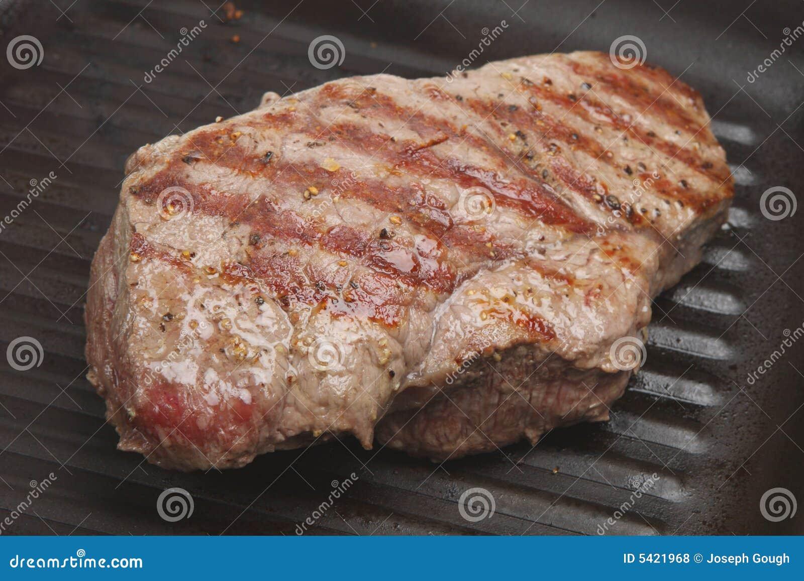 Pan-Fried Steak Royalty Free Stock Photos - Image: 5421968