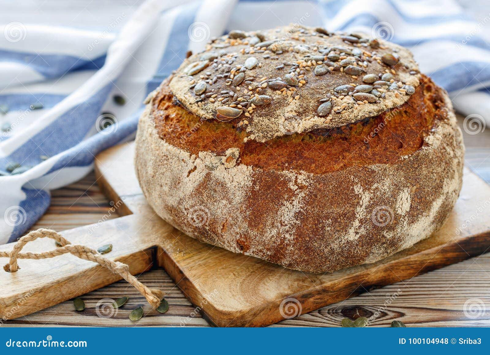 Pan hecho en casa de la calabaza