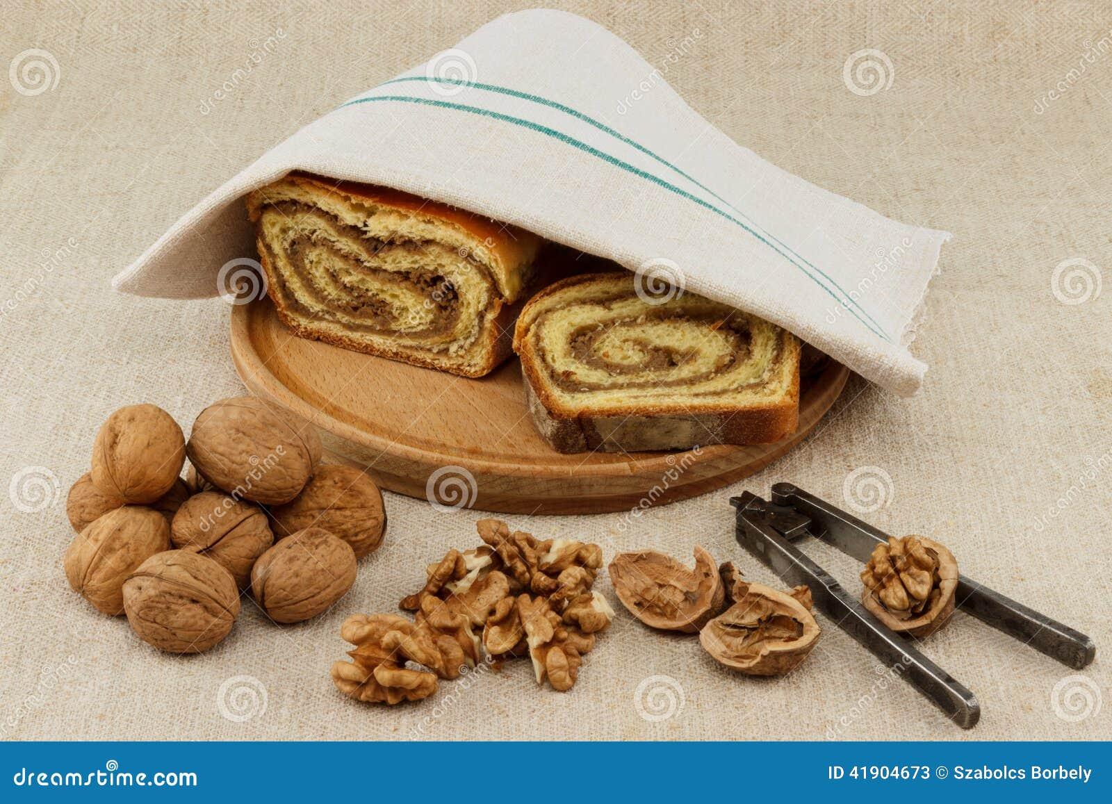 Pan hecho en casa de la nuez