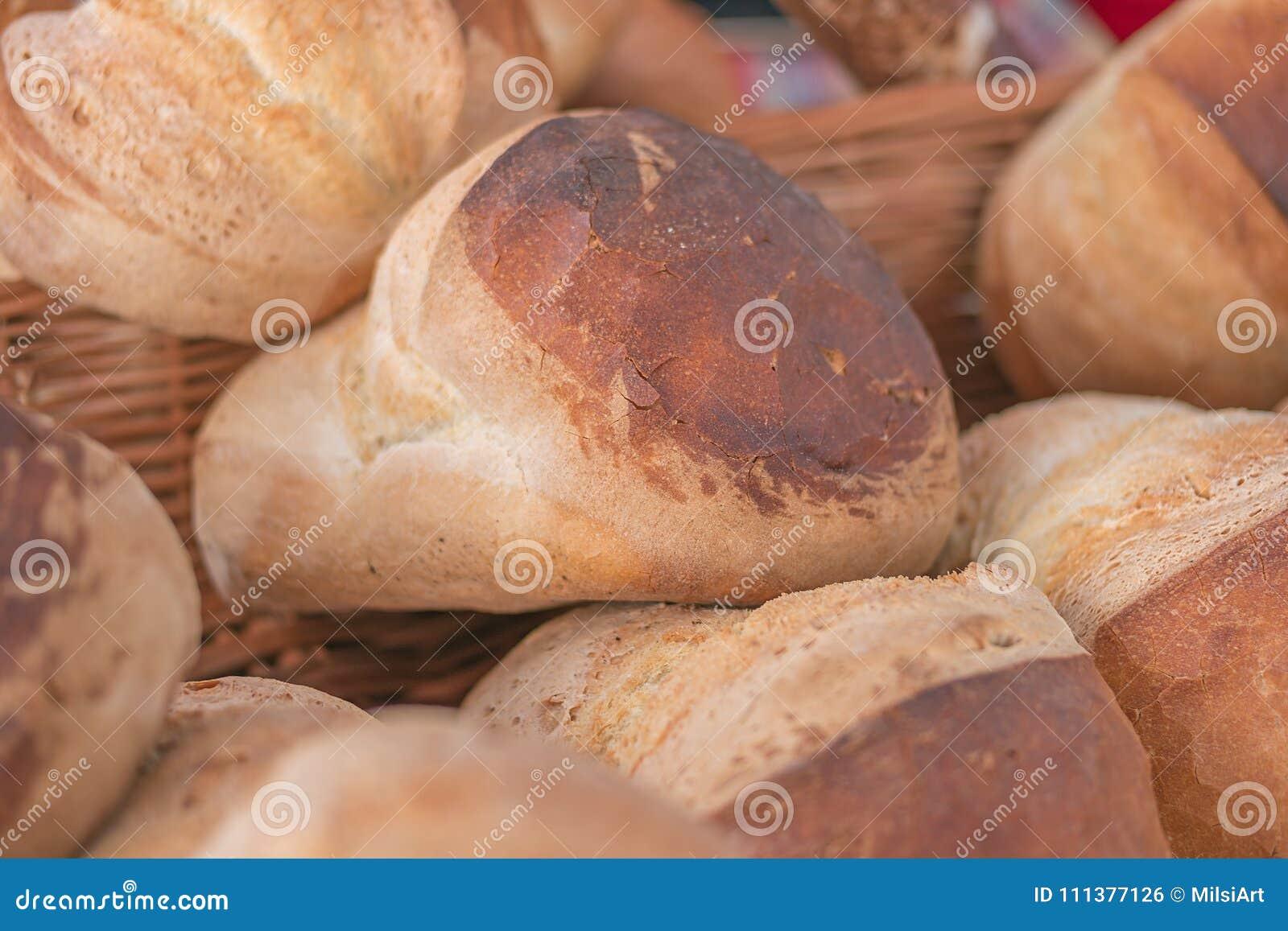 Pan recientemente cocido del pan hecho en casa