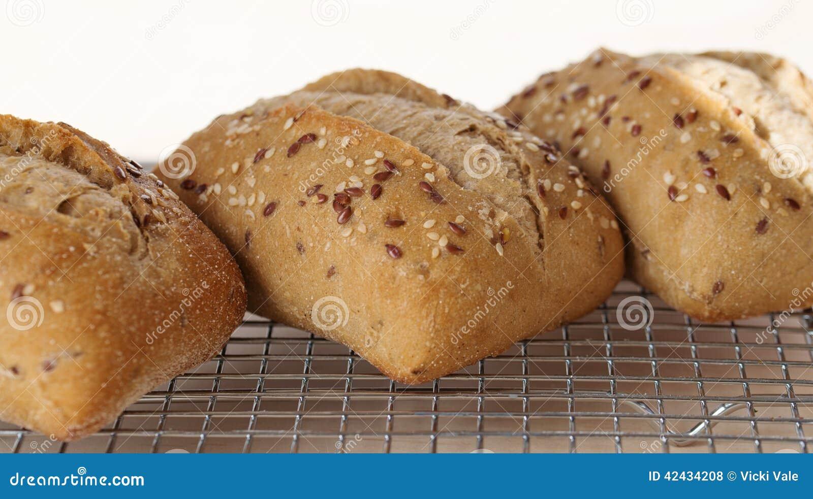 Pan Rolls de tres Ciabatta