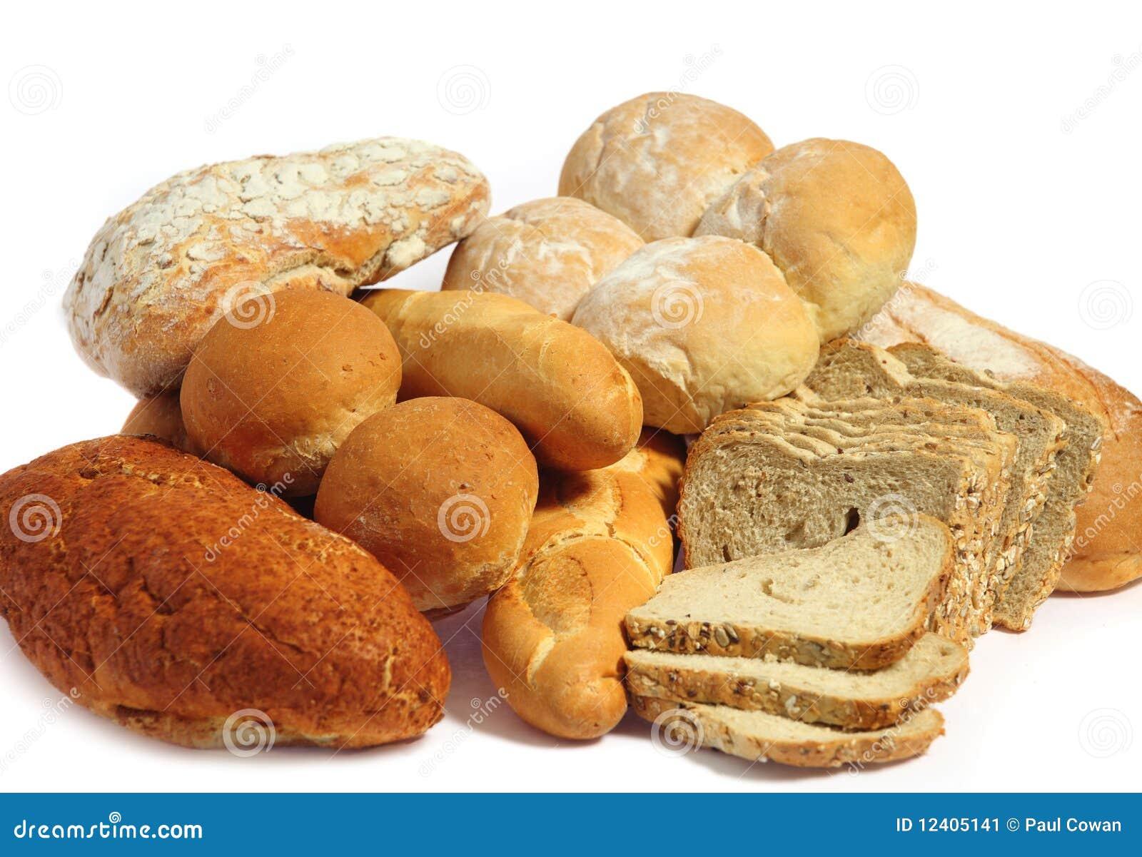 Pan sobre blanco