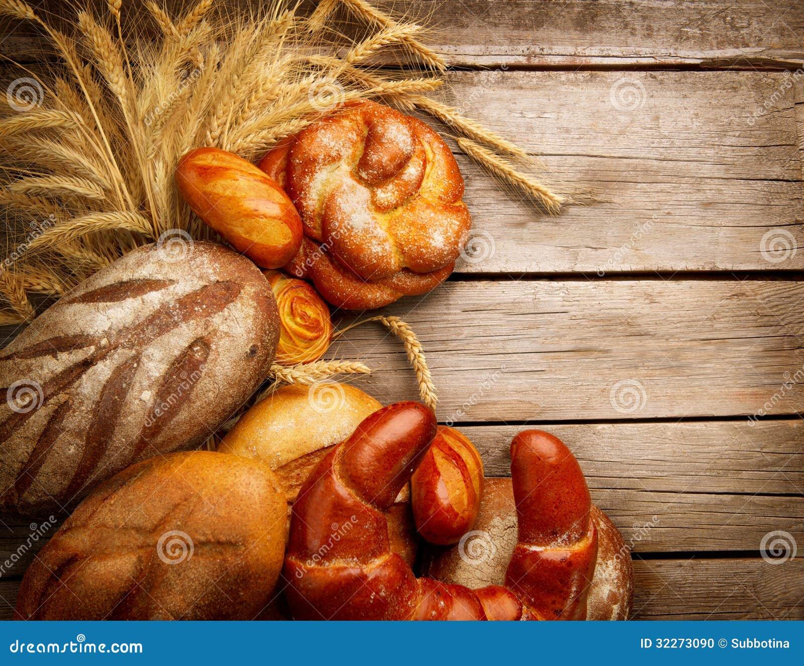 Pan y gavilla de la panadería