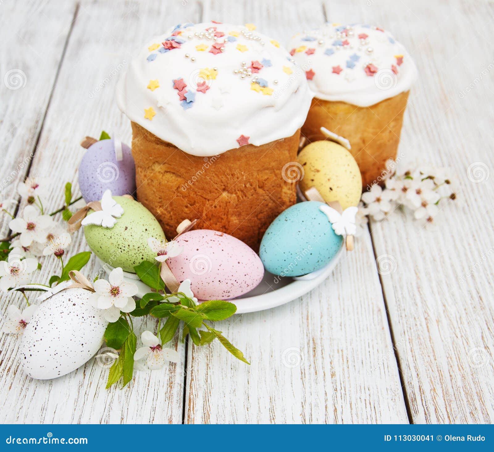 Pan y huevos de Pascua