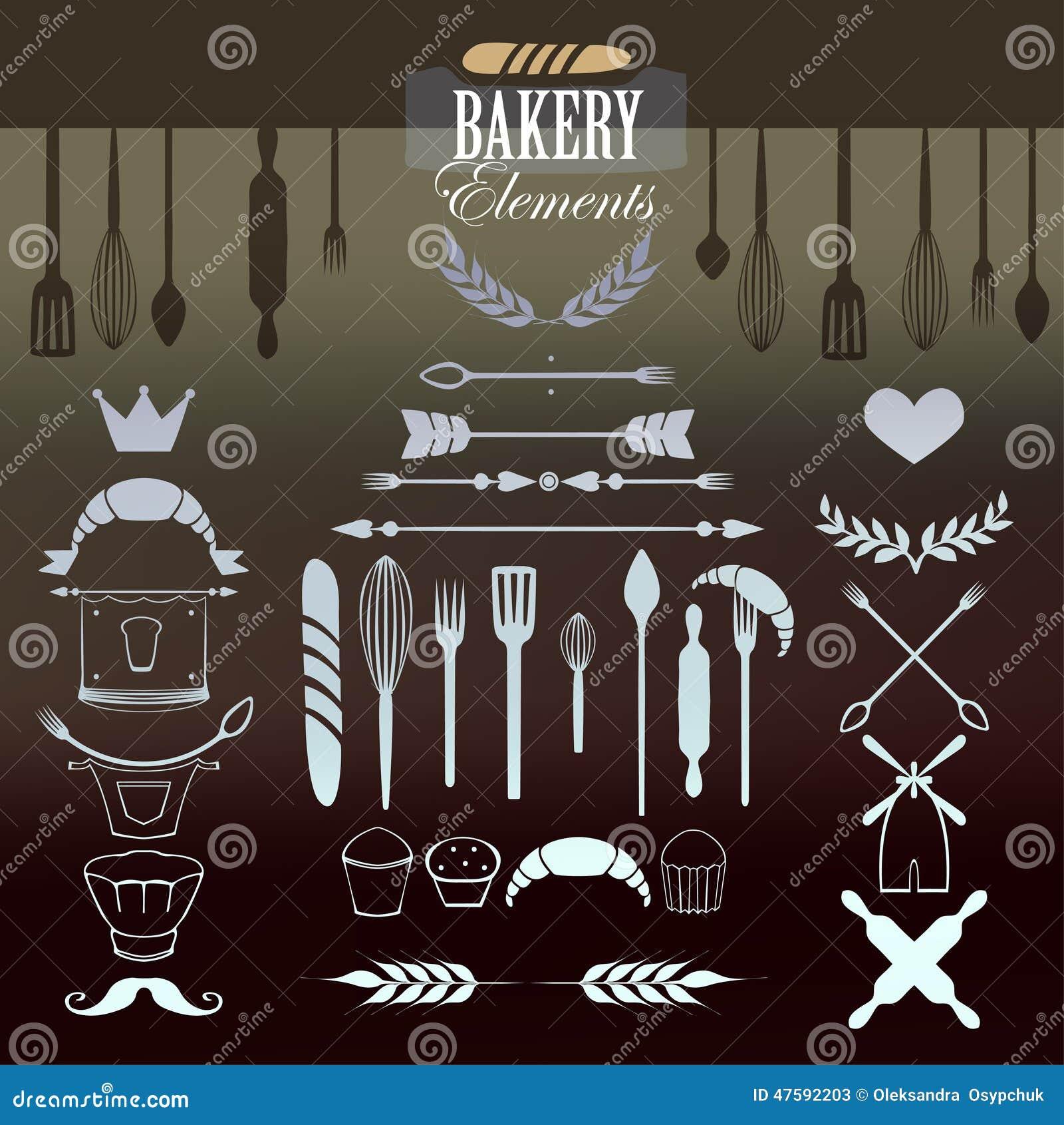 Panadero Elements para su diseño