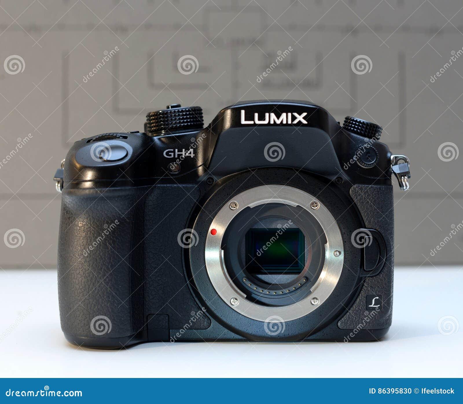 Panasonic Lumix DMC-GH4 Mirrorless Camera Editorial Image