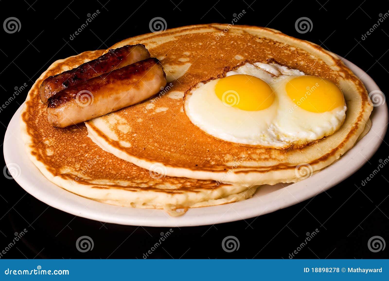 Pancake Breakfast Royalty Free Stock Photos - Image: 18898278