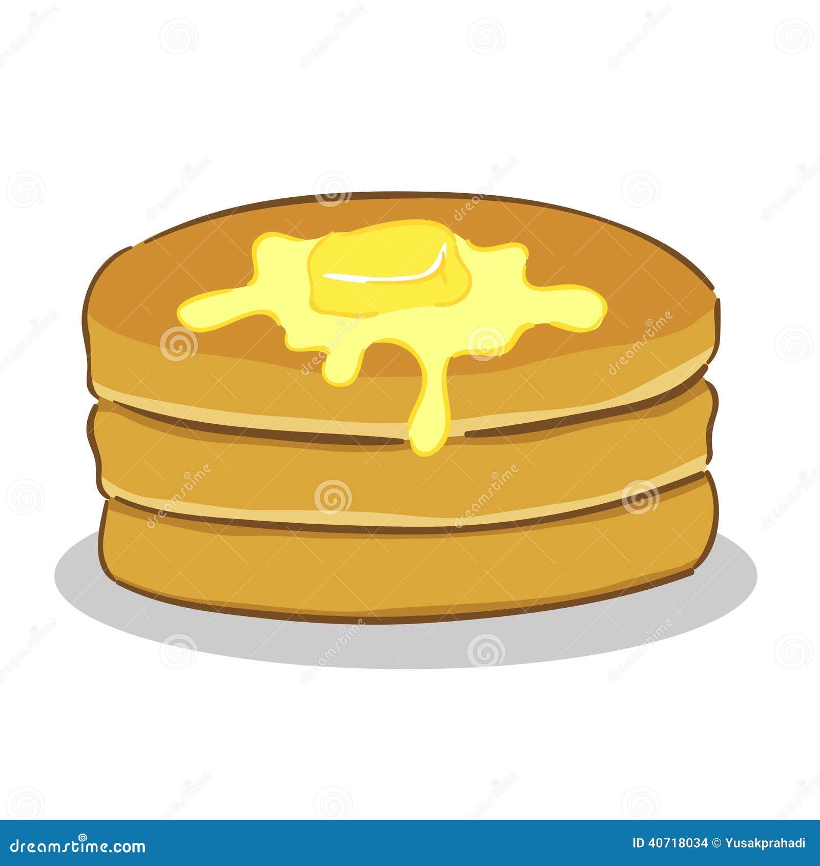 Pancake con burro