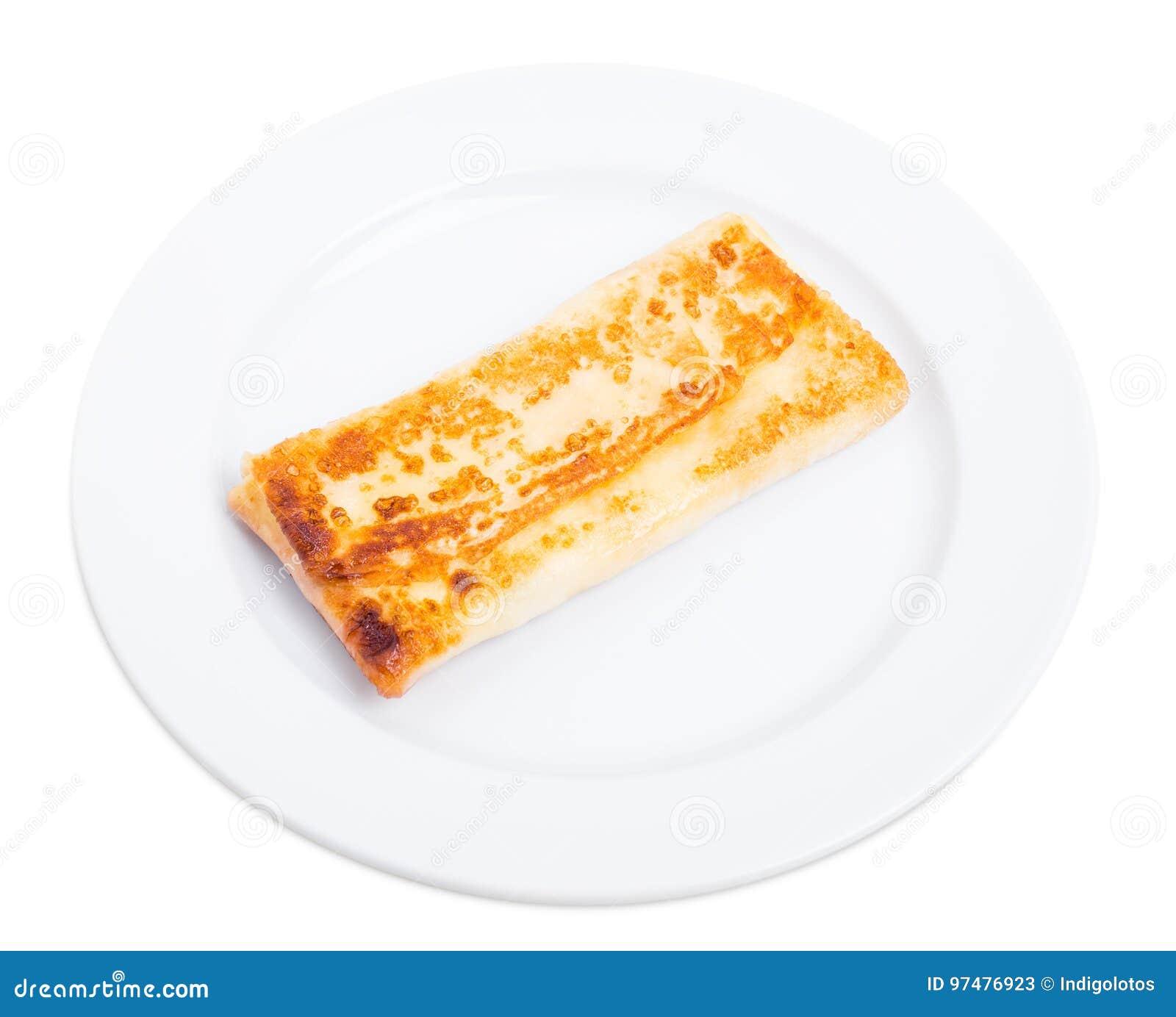 Pancake russo farcito con la ricotta salata