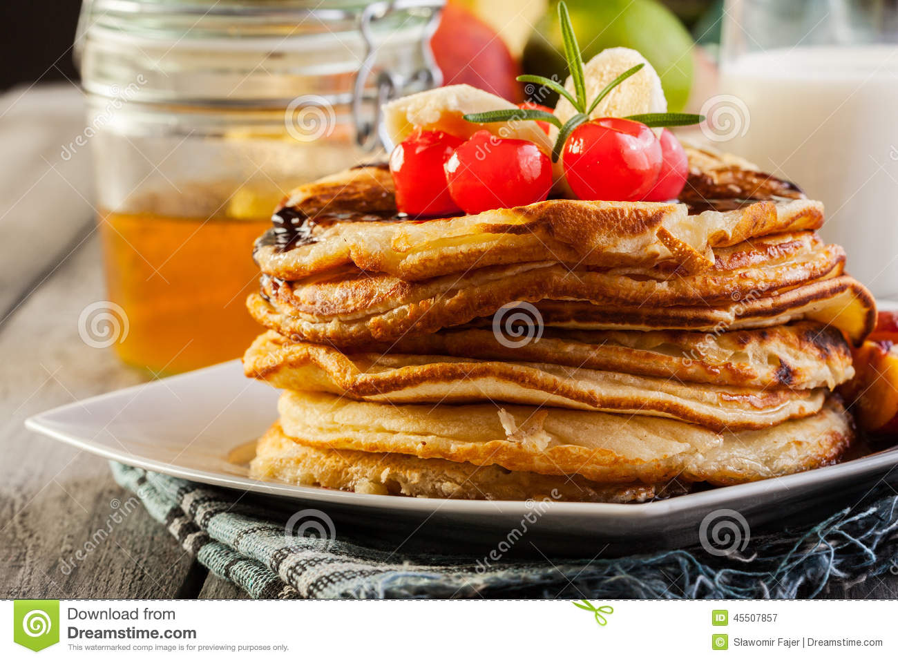 how to make fruit sauce for pancakes