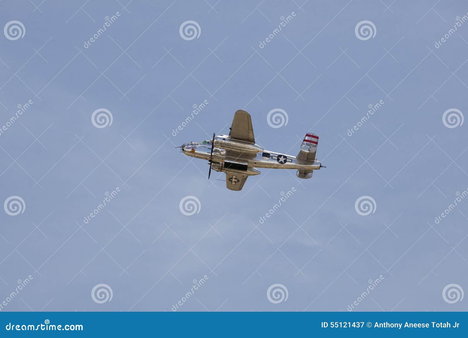 Panchito um B-25 norte-americano Mitchells