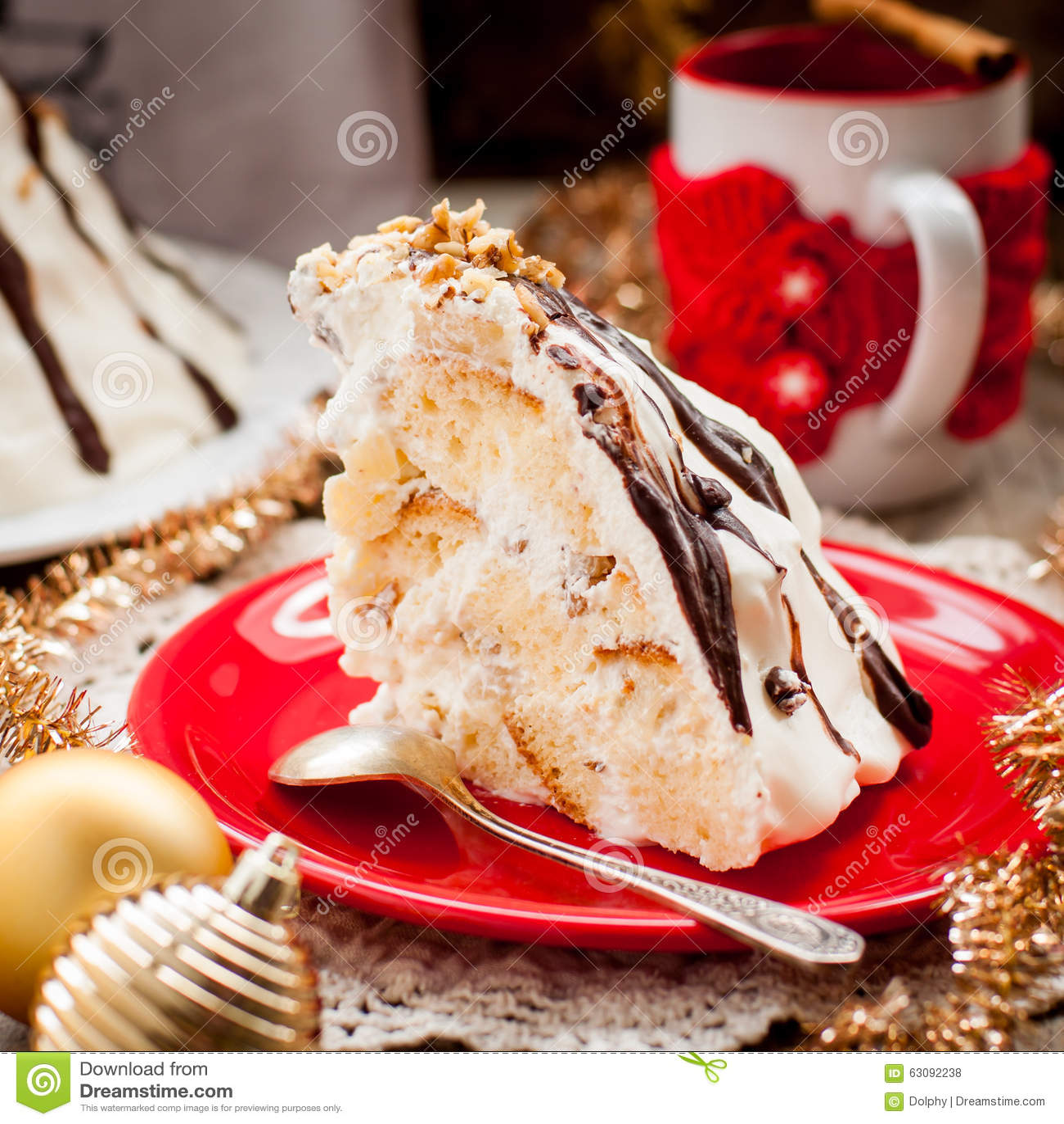 Download Pancho Cake photo stock. Image du festive, vacances, noir - 63092238