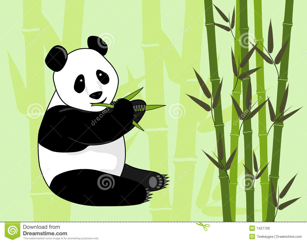 Bamboo Illustration Art