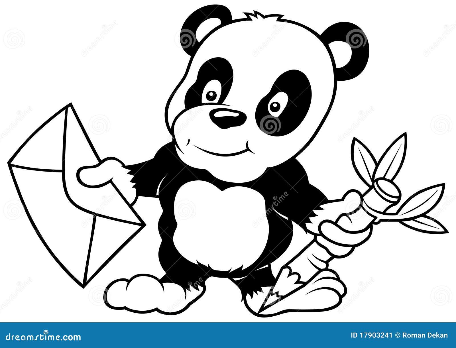 Panda en Brief