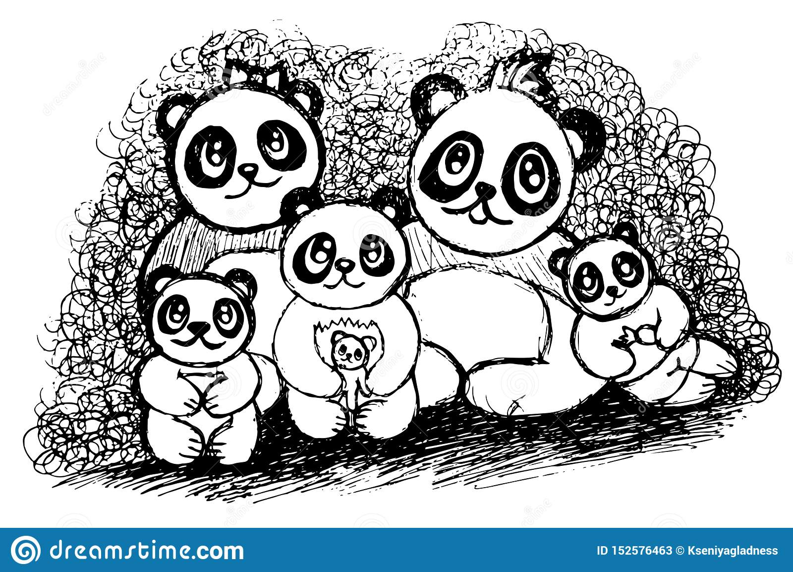 coloring pages panda bears - Clip Art Library | 1153x1600