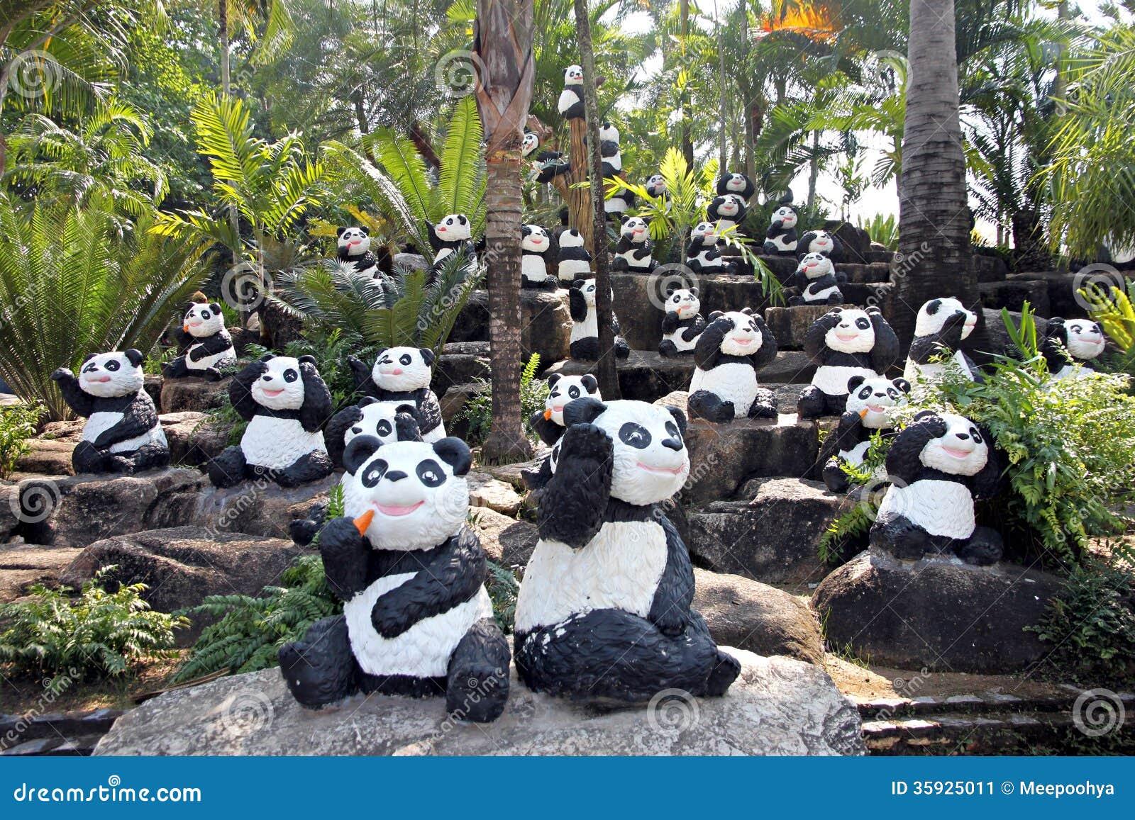 Panda Statue.