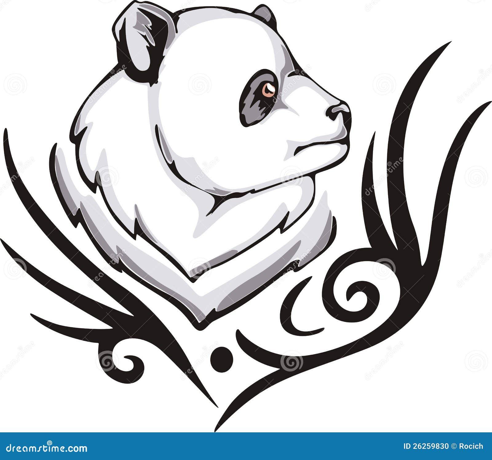 Panda Tattoo Stock Photo Image 26259830