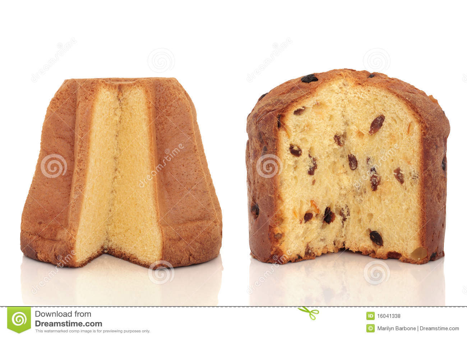 Pandoro And Panettone Cakes Royalty Free Stock Photos ...
