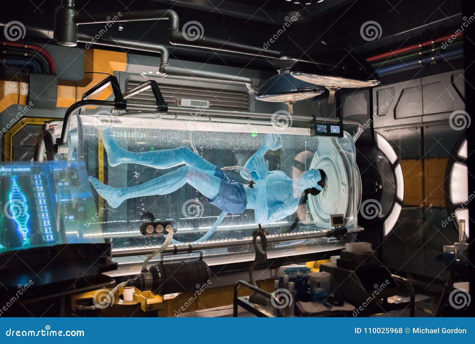 Pandory † świat Avatar przy Zwierzęcym królestwem przy Walt Disney światem