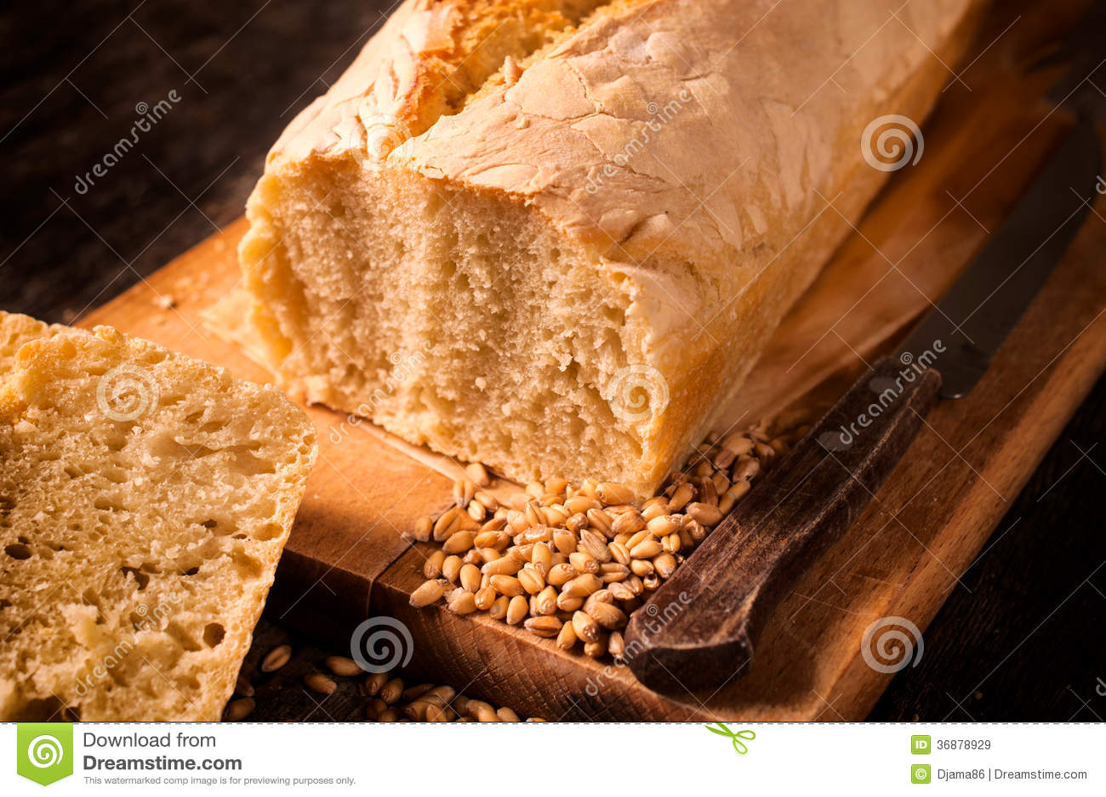 Download Pane al forno immagine stock. Immagine di papavero, dieta - 36878929