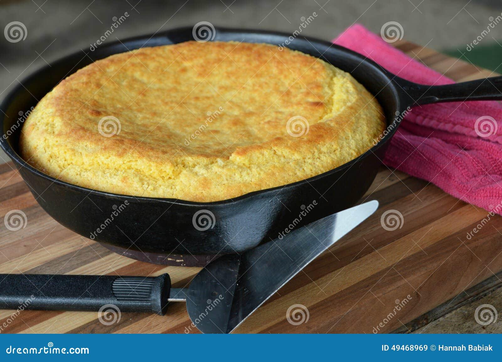 Pane di cereale del sud della padella del ghisa