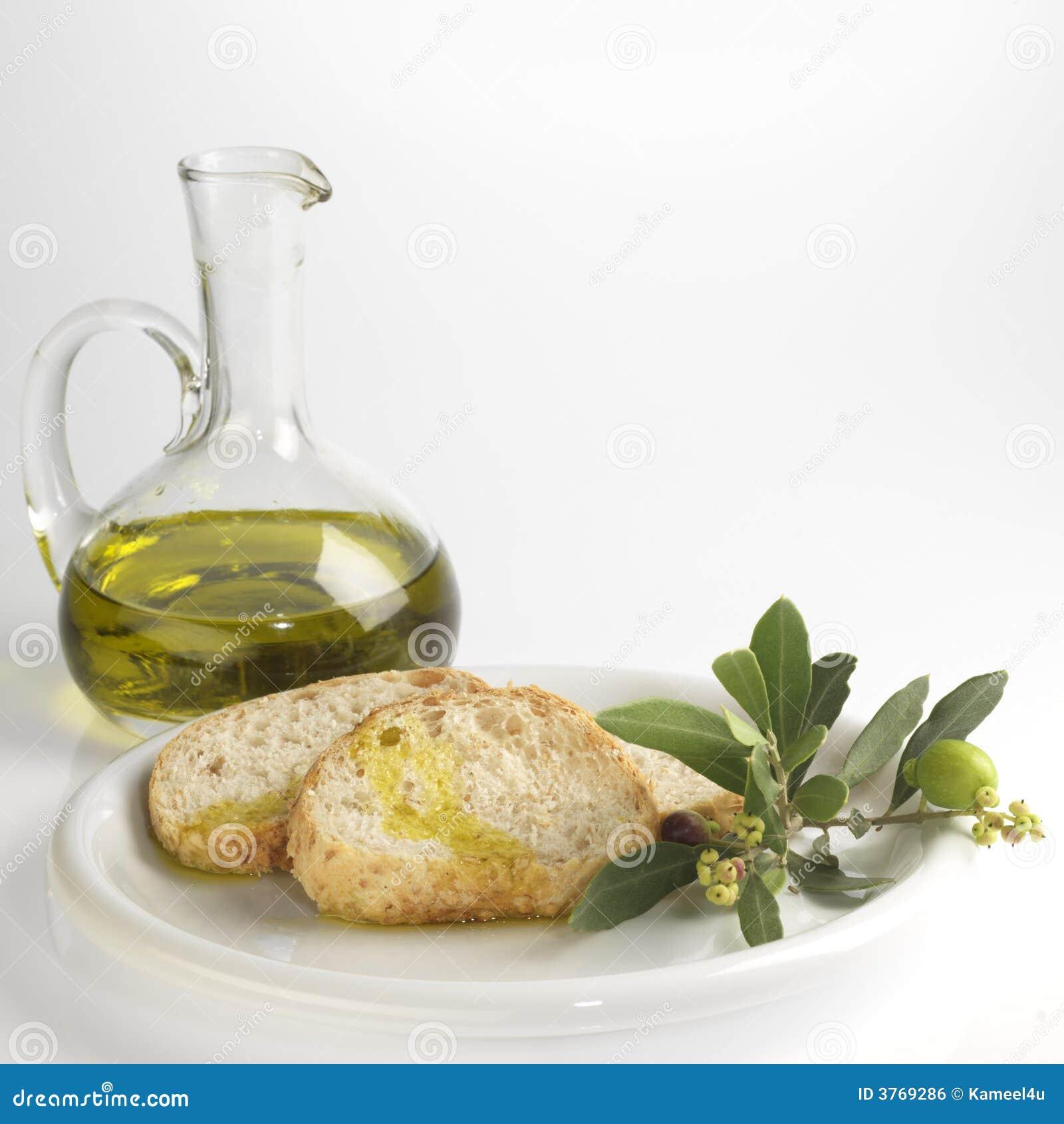 Pane ed olio di oliva