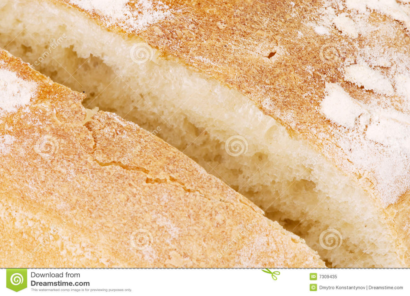 Pane saporito di Cutted