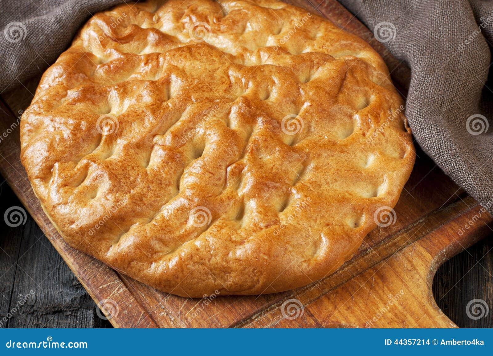 Pane tradizionale di recente cotto
