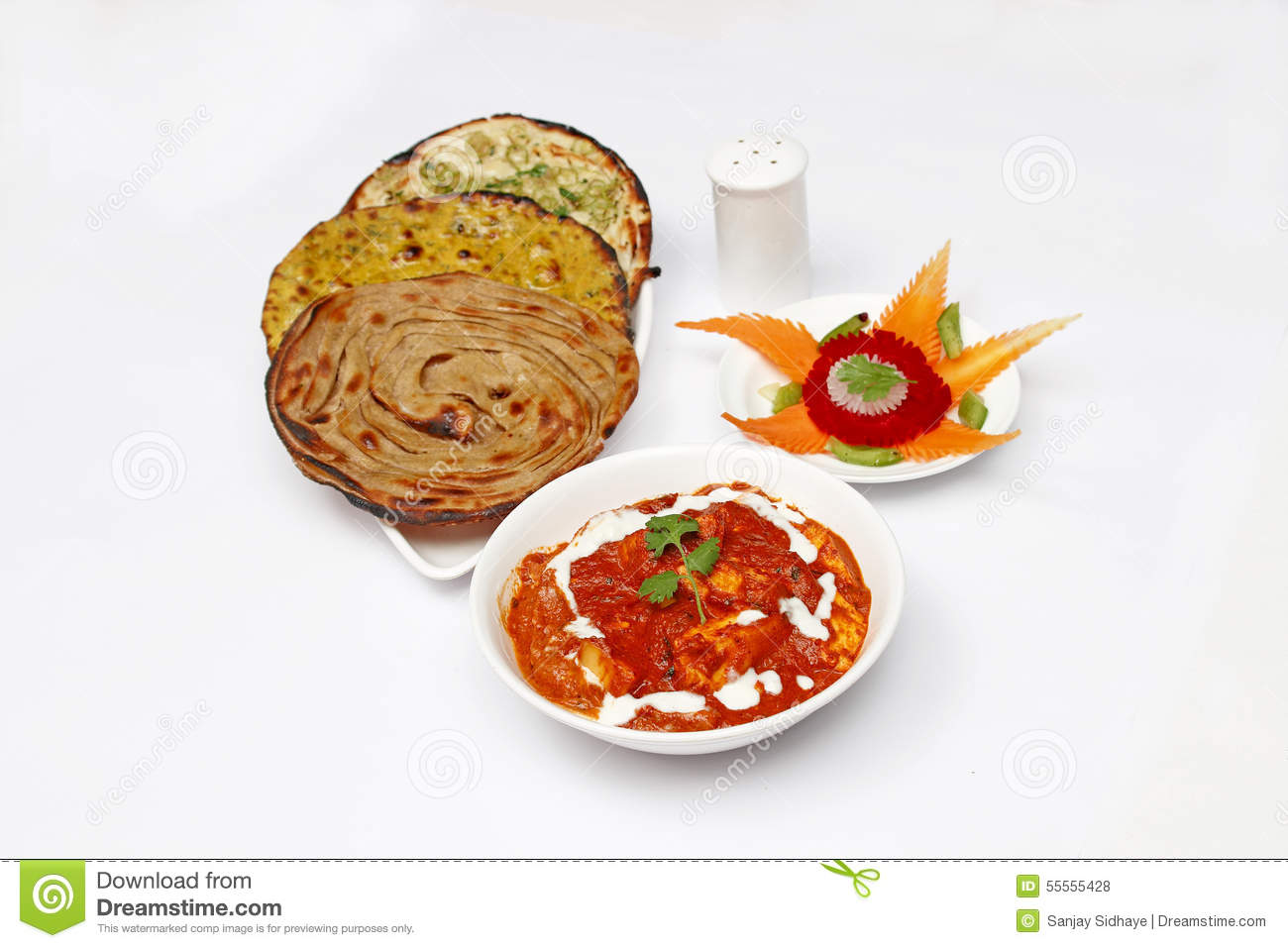 Paneer butter masala roti stock photo image of irresistible royalty free stock photo forumfinder Gallery