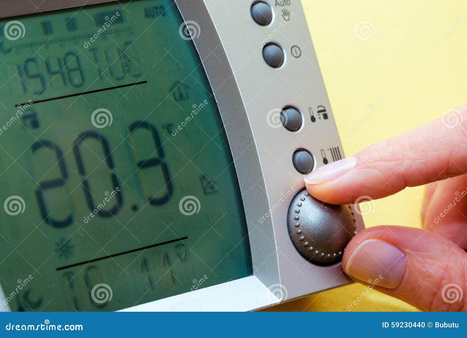 Panel de control de la caldera de gas para la agua caliente y la calefacción copia