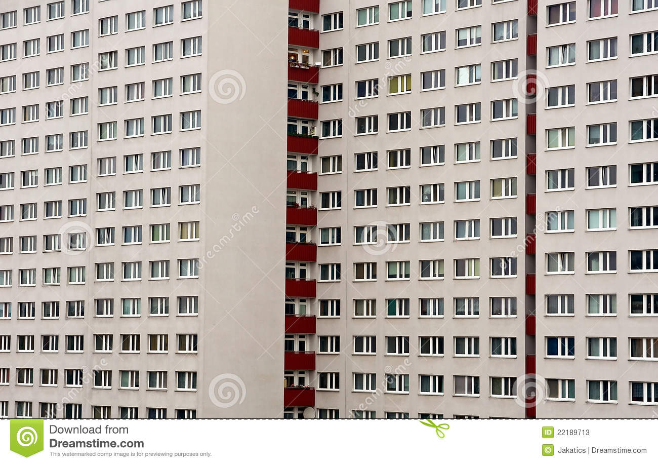 Panel house stock image. Image of building, multiroom - 22189713