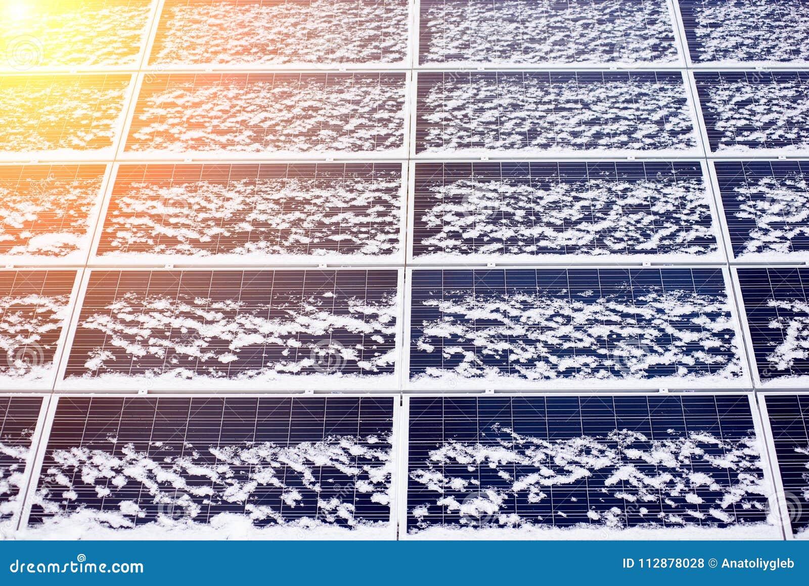 Panel słoneczny alternatywnej energii wyposażenie
