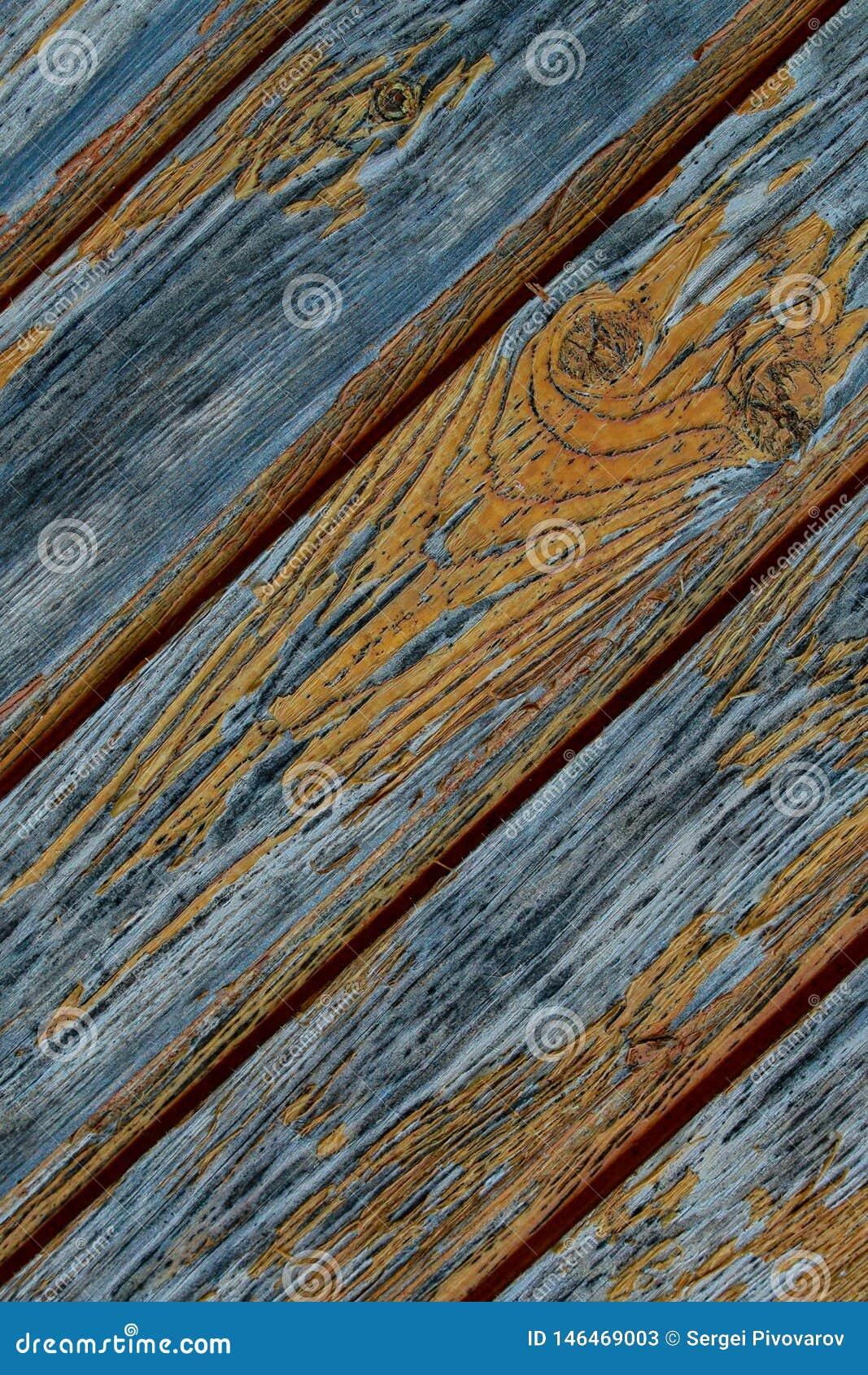 Panel starych desek połogie linie struga pomarańczowego farby tła grunge projektują równoległe serie