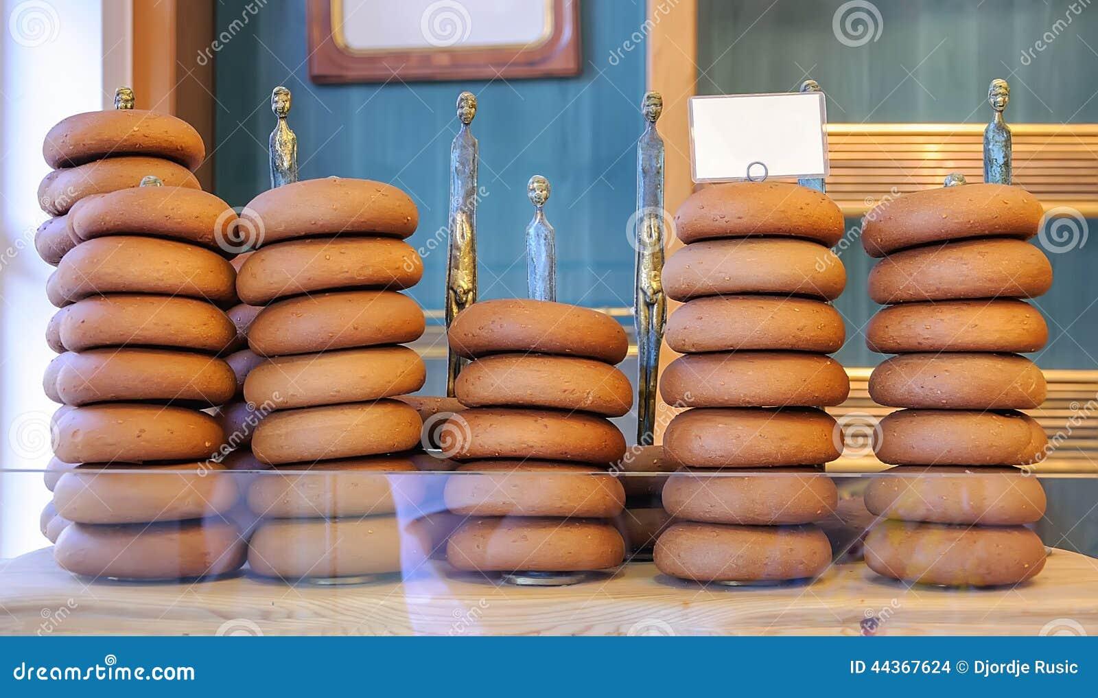 Pani e dolci del forno