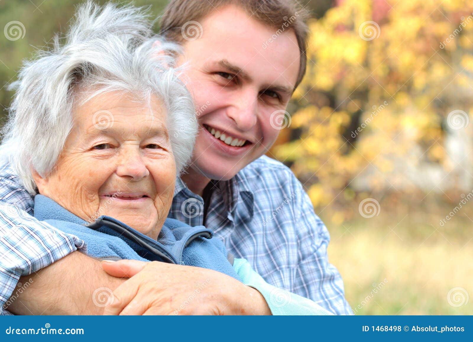 Pani starszych ludzi młodych