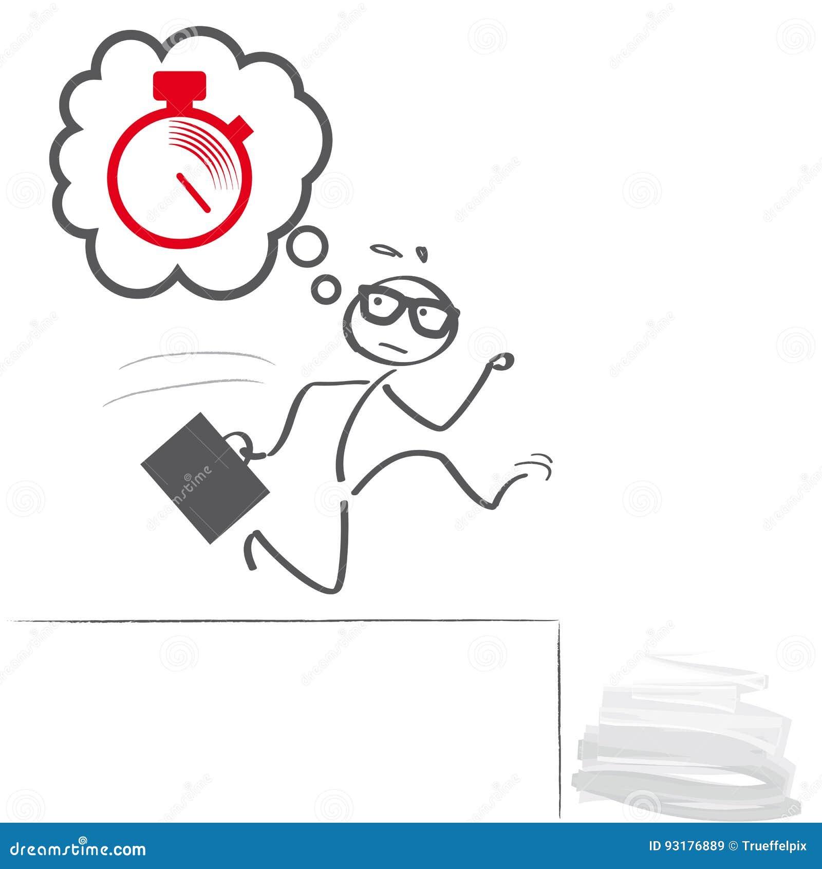 Panic deadlines illustration