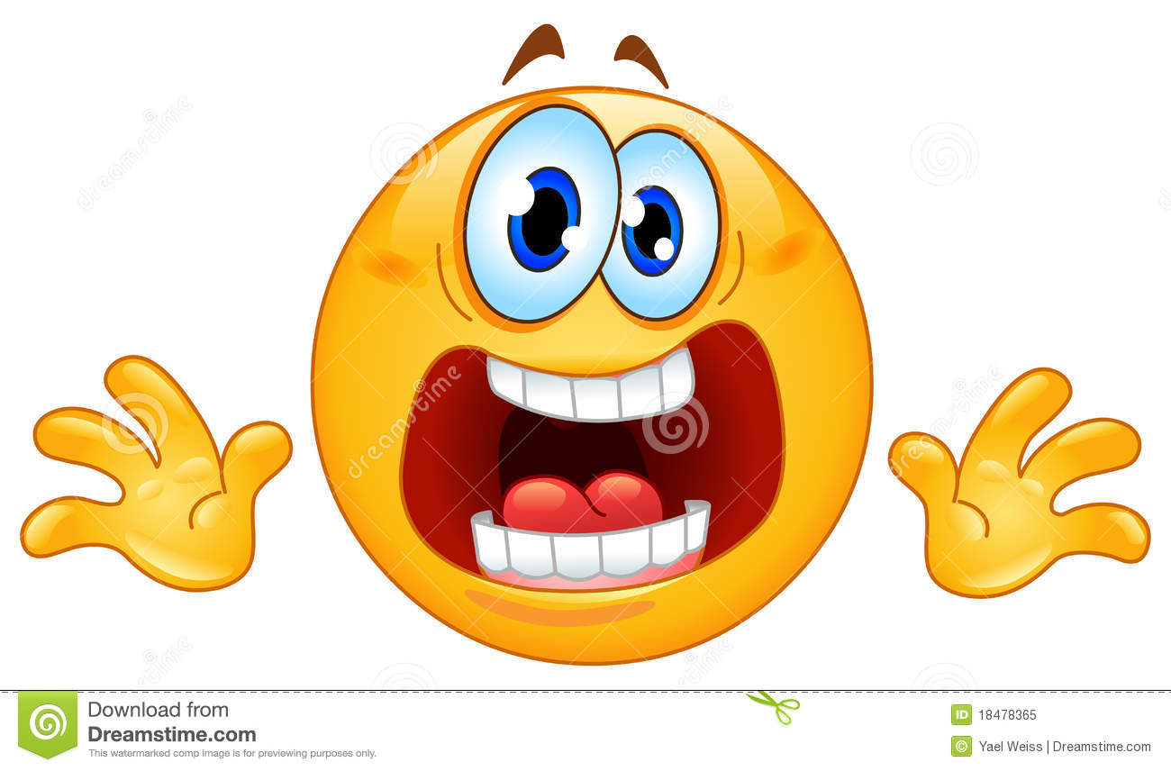 Panic Face Cartoon http://www.dreamstime.com/royalty-free-stock-photo-panic-emoticon-image18478365