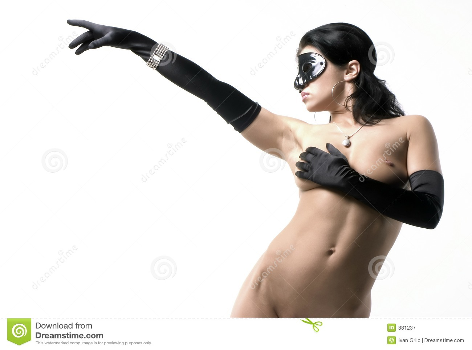 Panie 2 czarna maska