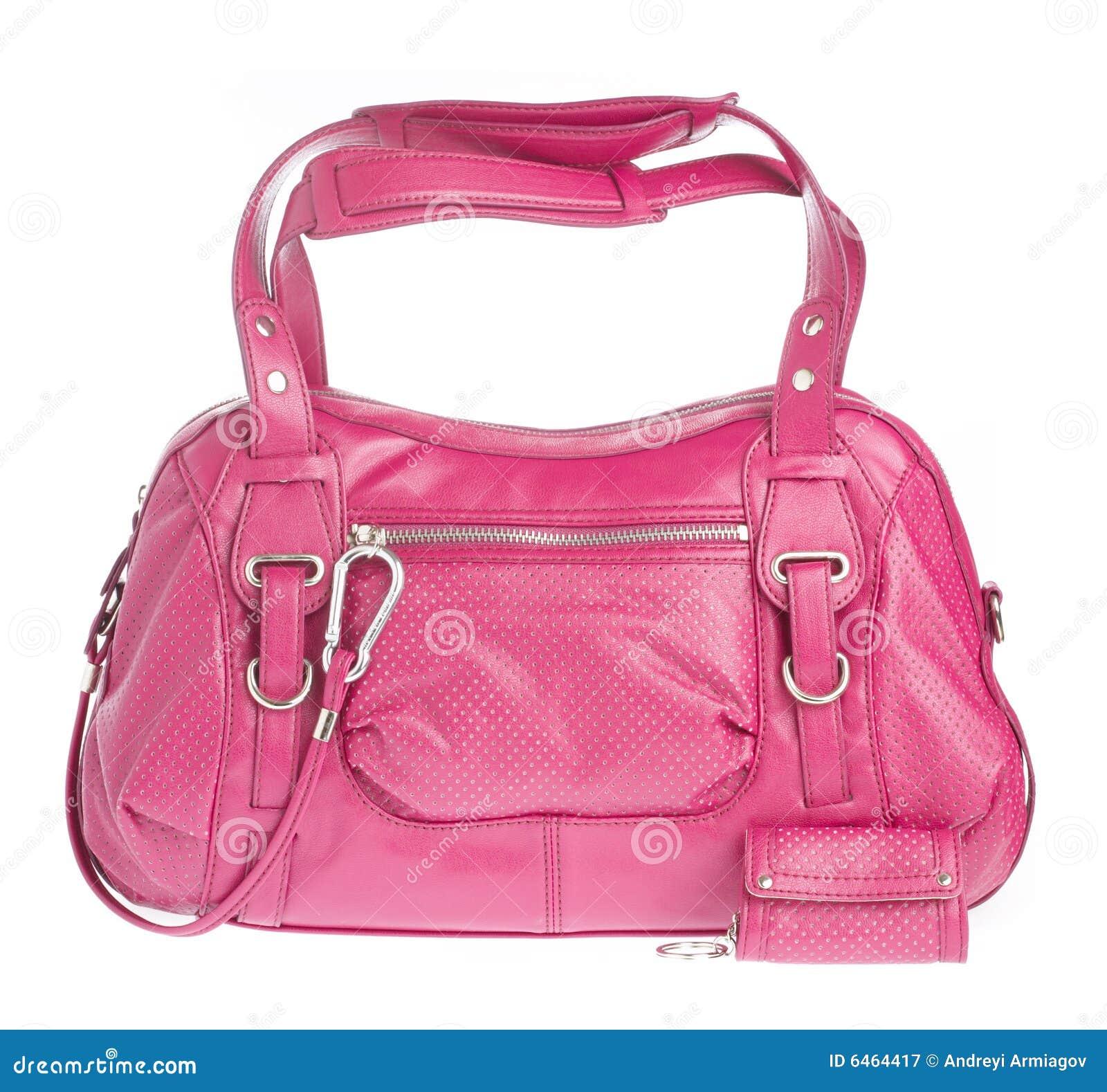 Panie białe tło torebki